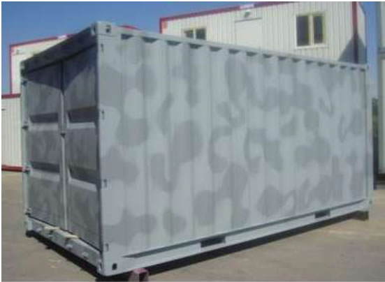 Military Housing Camps, Army Camp Containers, Army Container Housing