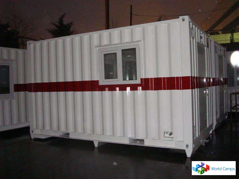Offshore Certified Living and Storage Containers
